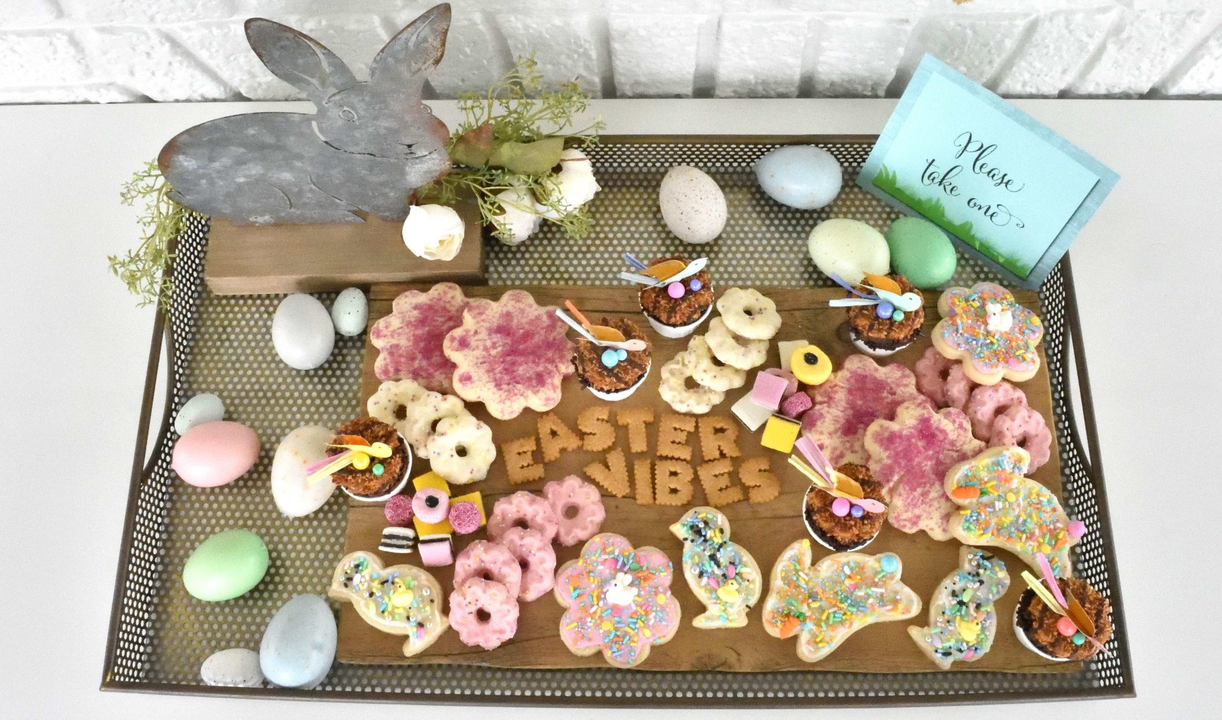An Easter Dessert Grazing Board Is A Delicious Way To Celebrate The Holiday
